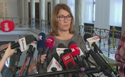 """Dymisja Zalewskiej? """"Nie mówimy na ten temat"""""""