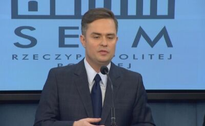 "Adam Hofman oburzony słowem ""naciągacze"""