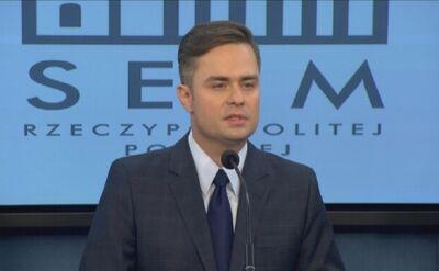 Hofman o braku aktywności w czasie delegacji do Rady Europy