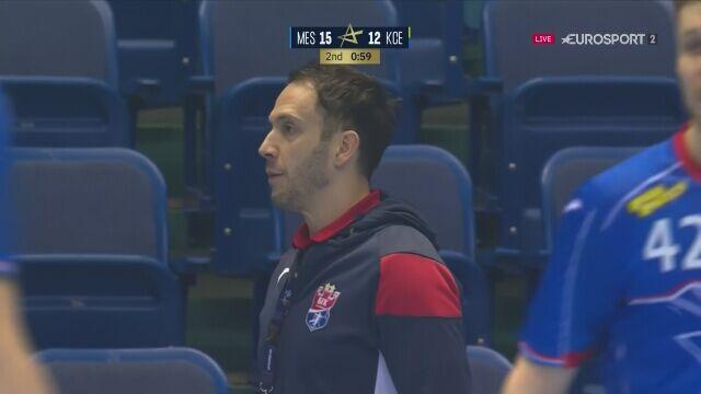 Popis bramkarzy w meczu Vive z Mieszkowem w Lidze Mistrzów