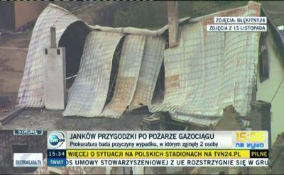 Domy w Jankowie były zbyt blisko?