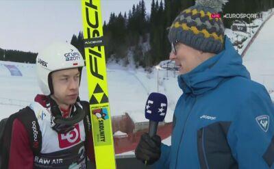 Aleksander Zniszczoł po kwalifikacjach w Trondheim