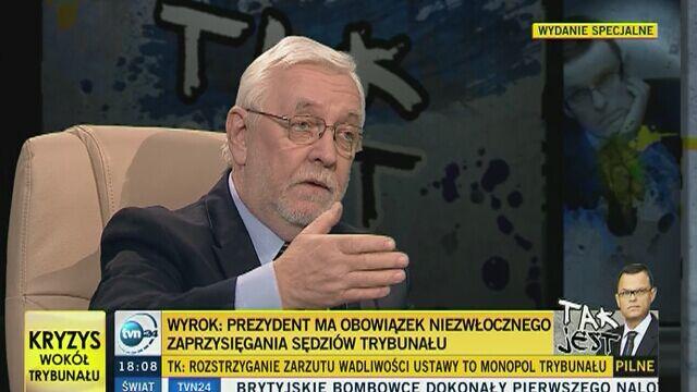Stępień: Kaczyński nie jest zdolny do zawarcia kompromisu