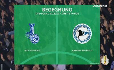 Duisburg wywiózł awans z Bielefeldu