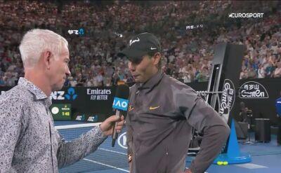 Rafa Nadal skomentował awans do półfinału Australian Open