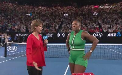 Serena Williams skomentowała wygraną w 4. rundzie Australian Open