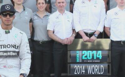 Lewis Hamilton mistrzem świata