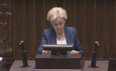 Beata Mazurek kontra Krystyna Skowrońska. Ostra wymiana zdań