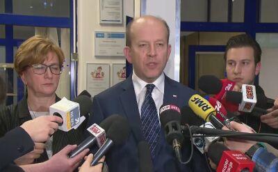 Minister: umówiliśmy się na kolejne spotkanie