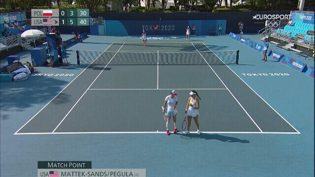Tokio. Tenis: Linette i Rosolska odpadły z olimpijskiego turnieju debla