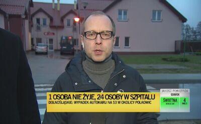 Urzędnik o stanie podopiecznych ośrodka w Pszczewie