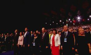 Gorące przywitanie i hymn narodowy. Ruszyła konwencja Platformy Obywatelskiej