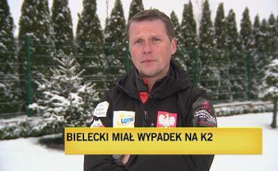 Jarosław Botor o wypadku Adama Bieleckiego