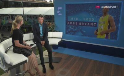 Tenisiści oddali hołd tragicznie zmarłemu Kobe Bryantowi