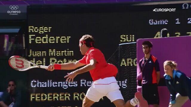 Olympic Channel: zanim stali się gwiazdami - Roger Federer