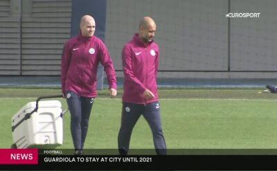 Kamień z serca w City. Guardiola przedłużył do 2021 roku