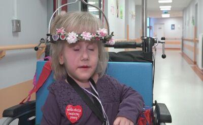 Jagienka jest wolontariuszką w olsztyńskim szpitalu