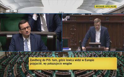 Zandberg: Grozi nam wszystkim katastrofa klimatyczna