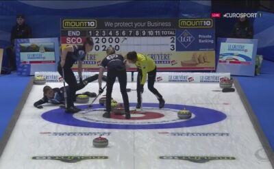 Curling może być niebezpieczny. Upadek kapitan reprezentacji Szkocji
