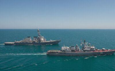 Niszczyciel US Navy na Morzu Czarnym