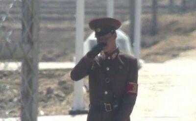 Korea Północna podglądana z Chin