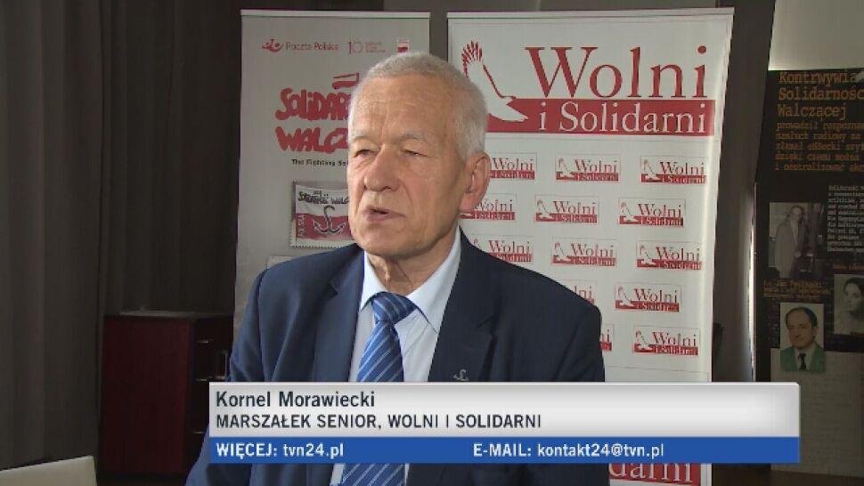 """Pod listą partii Kornela Morawieckiego podpis lidera Miasto Jest Nasze. """"Ktoś go podrobił"""""""