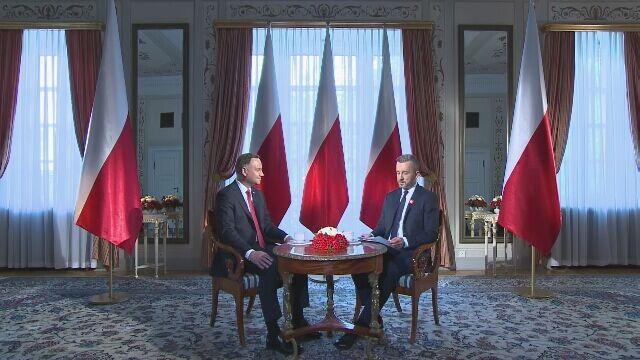 """Andrzej Duda w """"Tak jest"""""""