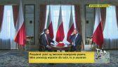 """Duda o """"piątce Kaczyńskiego"""": działania, które podnoszą jakość życia"""