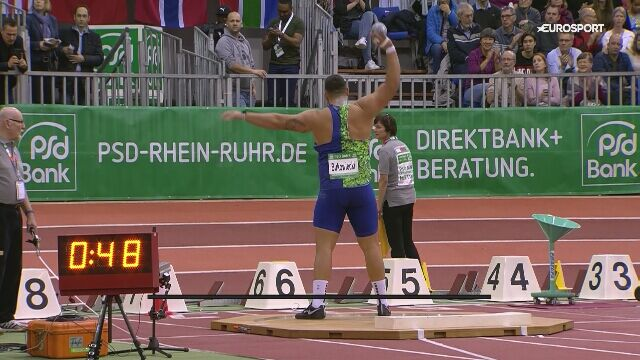 Konrad Bukowiecki zajął 2. miejsce na mityngu w Duesseldorfie
