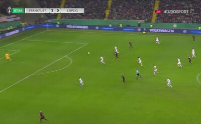 Pierwszy gol dla RB Lipsk autorstwa Daniego Olmo