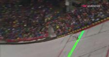 Skok z 2. serii Dawida Kubackiego w Oberstdorfie