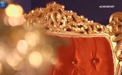 Buffon w roli świętego Mikołaja