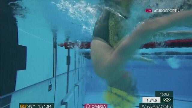 Tokio. Pływanie: Laura Bernat bez awansu do finału na 200 m st. zmiennym