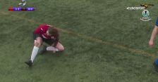 Koszmarna kontuzja szkockiej piłkarki. Z uszkodzonym kolanem grała do końca meczu
