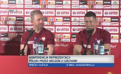 Lewandowski: przez wiele tygodni narzekam na jakiś uraz