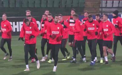 Pierwszy trening kadry bez Lewandowskiego