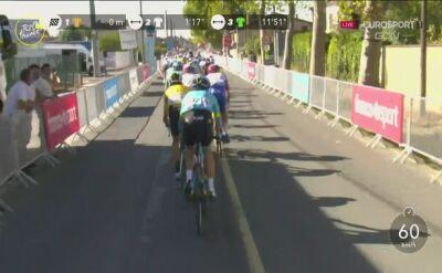 Wout van Aert ponownie wygrał etap Tour de France