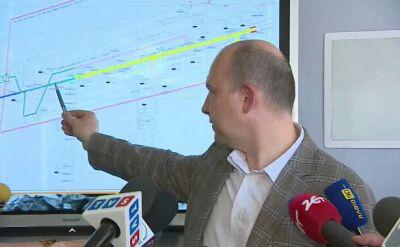 Prezes JSW przedstawił trasę ewakuacji górnika