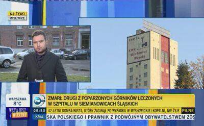 W szpitalu w Siemanowicach Śląskich zmarł kolejny ciężko poparzony górnik