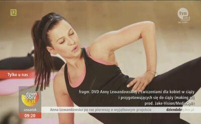 Anna Lewandowska opowiada o przebiegu ciąży