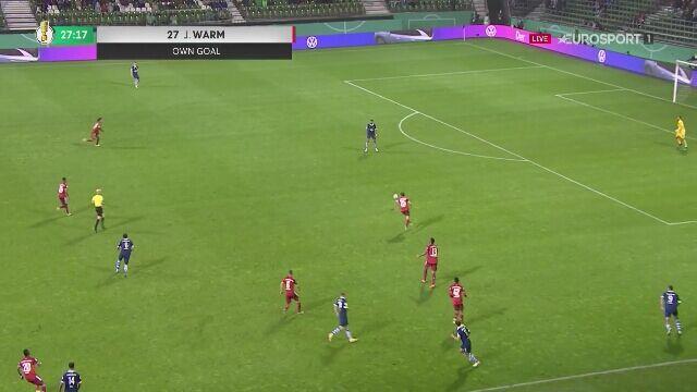 Puchar Niemiec. Bremer SV - Bayern Monachium 0:4 (gol Choupo-Moting)