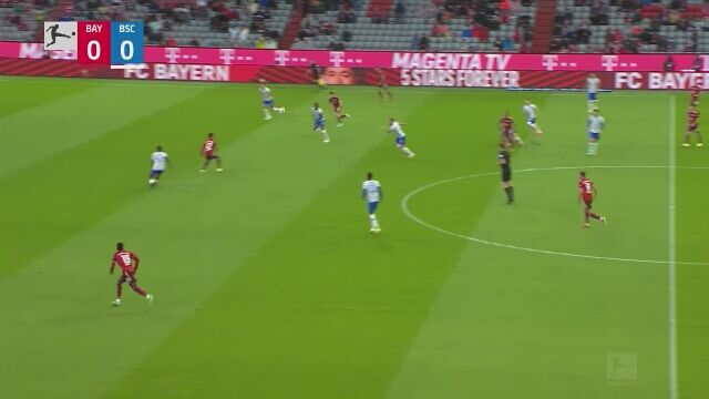 Wszystkie gole z meczu Bayern Monachium - Hertha Berlin