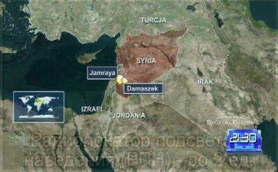 Syria celem izraelskiego lotnictwa