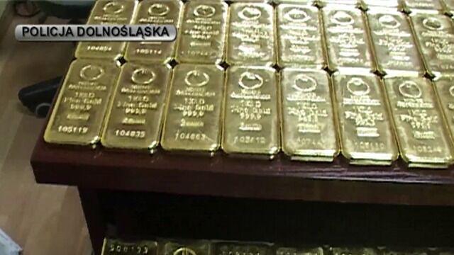CBŚ przejęło 100 kg złota