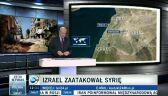 Izrael zaatakował Syrię