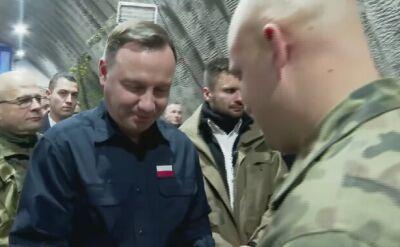 Prezydent z wizytą bożonarodzeniową u żołnierzy w Rumunii