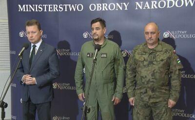 Mariusz Błaszczak: wstrzymane loty przy użyciu MiG-ów 29