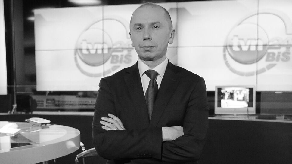 Zmarł Sebastian Podkościelny. Współtwórca TVN24 i TVN24 BiS miał 47 lat