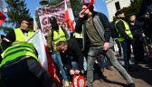 """""""Warszawa usłyszy głos rozpaczy"""". Protest rolników sparaliżował stolicę"""