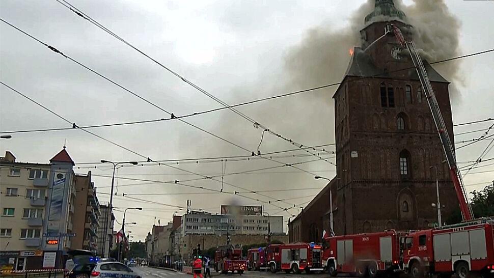 Katedra spłonęła, proboszczowie z zarzutami. Grozi im do 8 lat więzienia